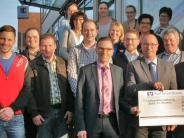 Spende: Eine stolze Summe für Kesseltaler Vereine