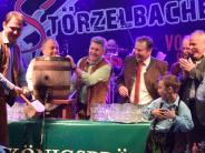 Dillinger Volksfest: Sieben Schläge bis zum Party-Start