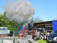 Tractor Pulling: Kräftemessen mal anders