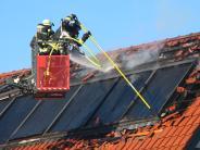 Region Augsburg: Solaranlagen auf dem Dach können Brände auslösen