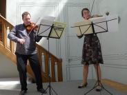 Matinee: Subtiles Duo-Musizieren in der Orangerie