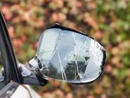 Lauingen: Spiegelkollision mit Folgen