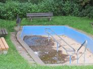 Erfrischung in Buttenwiesen: Kneipp-Becken ist in die Jahre gekommen