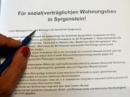 Bürgerbegehren: Wohnprojekt: Initiative sammelt Unterschriften