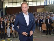 FDP-Vorsitzender in der Brenzhalle: Christian Lindner und die zwei Wunder von Gundelfingen
