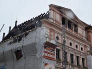 Großeinsatz: Nach Dillinger Rathausbrand: Lauingen und Höchstädt helfen
