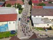 BR-Radltour: 1100 Radler sausen durch Lauterbach