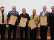 Dillingen: Goldene Meisterbriefe für Fleischer