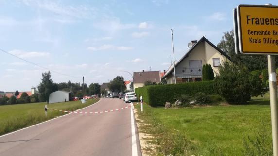 Kreis Dillingen: Mann bedroht Einsatzkräfte mit Axt - Spezialkräfte im Einsatz