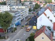 : Ein Parkplatz wird zur Verkehrsader