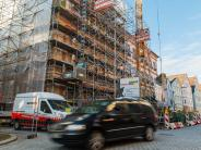 Rathausbrand: Die Königstraße ist wieder befahrbar