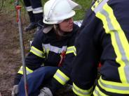 Holzheim: Explosionsgefahr in Holzheim: Feuerwehren üben Großeinsatz