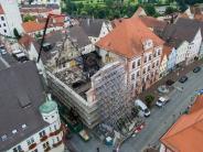 Dillingen: Nach Rathausbrand steht nun die Schadenshöhe fest