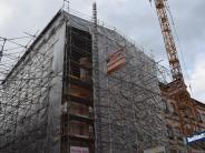 Dillingen: Der Wiederaufbau des Dillinger Rathauses stockt