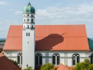 Dillingen: Von außen glänzt die Basilika schon