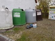 Abfallentsorgung: Müllsünder hausen um wie die Vandalen