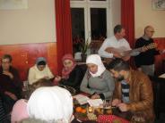 Advent: Flüchtlinge singen beim Sprachtreff