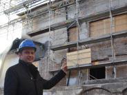 Ausblick: Kunz will beim Wiederaufbau des Rathauses Gas geben