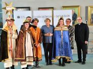 Sternsinger: Die Bundeskanzlerin trifft die Reistinger Könige