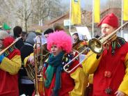 Fasching: Großer Gaudiwurm in Höchstädt