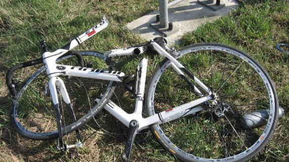 sturz fahrrad