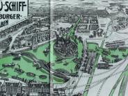 Rätselhafte Orte: Wie Augsburg zur Hafenstadt werden sollte
