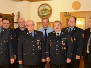 Feuerwehr II: Riedlinger Wehr ehrt Förg