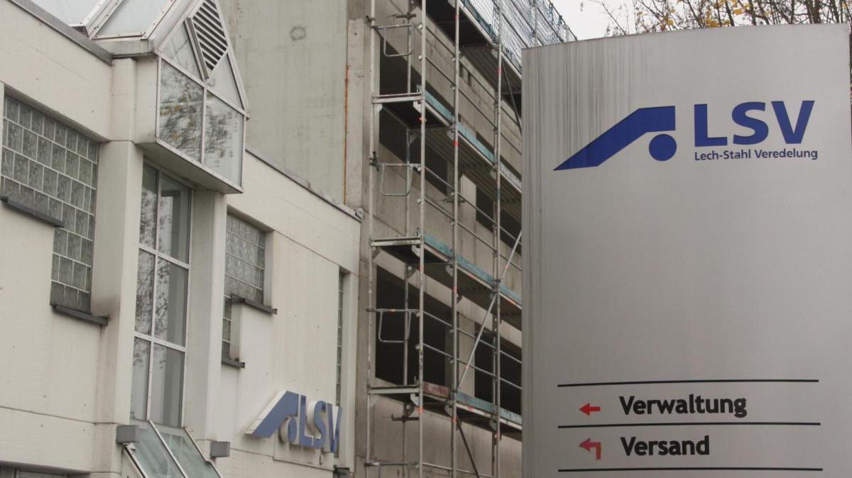 Gemeinde zeigt Lech-Stahl Veredelung die kalte Schulter - Augsburger Allgemeine