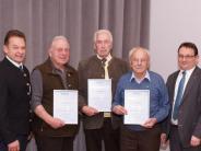 Kommunalpolitik: Gemeinsam 150 Jahre bei der CSU