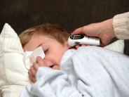 Gesundheit: Fieber bei Kindern lieber nicht mit Medikamenten behandeln
