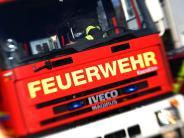 Niederbayern: Hallenbrand verursacht halbe Million Euro Schaden