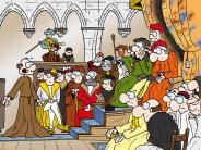 Historien-Comic: Donauwörther Geschichte in einem Comic
