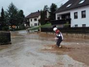Gewitter im Landkreis Donau-Ries: Fluten in Kellern und auf Straßen