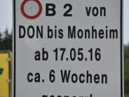 Verkehr: Staus in Kaisheim: Gemeinde will eine Ampel