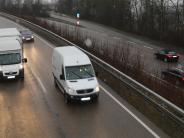 Donauwörth: Spaziergang auf Brücke von B2 löst Einsatz aus