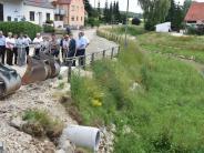 Infrastruktur: Entlang der Ussel entsteht eine Wand