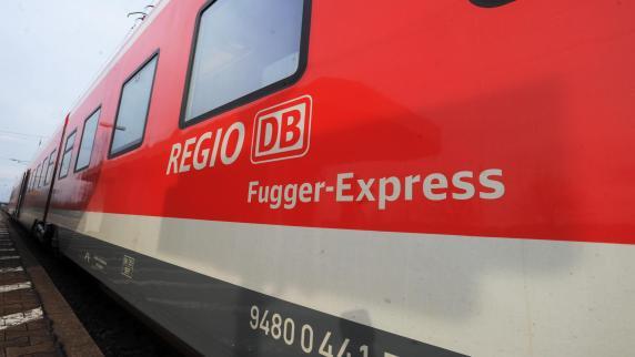 Augsburg /Donauwörth: Fugger-Express: Jeder zehnte Zug kommt zu spät