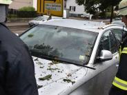 Donauwörth: Gewitter hält Feuerwehr auf Trab