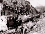 Historie: Der lange Weg zur Zugstrecke