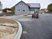 Baustelle: Bahnhofstraße wieder frei