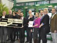 Donauwörth: Schüler setzen Zeichen gegen Rassismus