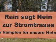 Donau-Ries-Kreis: Stromtrasse: Die sichtbaren Reste der Proteste