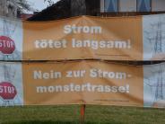 Donau-Ries-Kreis: Stromtrassen-Gegner: Protestplakate sollen bleiben