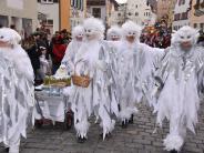 Gaudizug Wemding: Echte Clowns und eine närrische Hochzeit