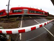 Kreis Unterallgäu: Zug stößt bei Pfaffenhausen mit Auto zusammen