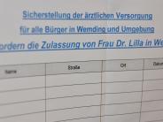 Wemding/Buchdorf: Hausärztin: Gremium entscheidet über Zulassung