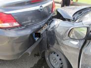 Donauwörth: Unfall auf Westspange: hoher Sachschaden