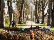 Leserfoto der Woche: Vorfreude auf Ostern an der Promenade