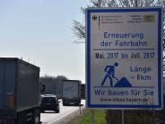 Verkehr: DieseBaustellen blockieren 2017 die Bundesstraßen