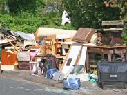 Abfall: Landkreis warnt vor illegalen Müllsammlungen